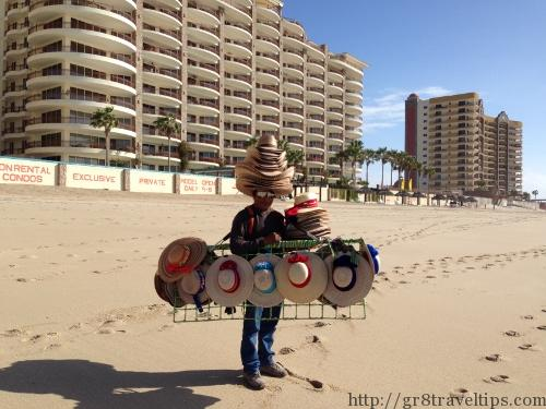 Puerto Penasco Beach Vendor