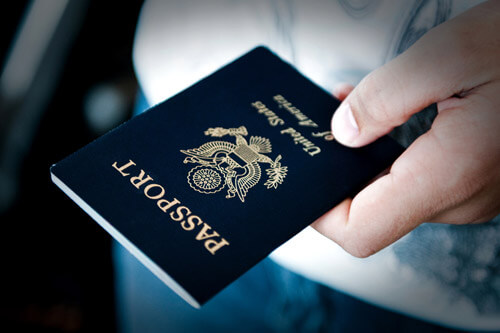 passport document