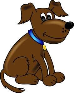 pet dog clipart