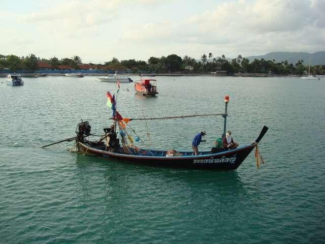 Fisherman in Thailand