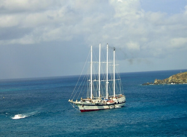 Windjammer in St Maarten
