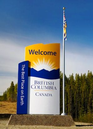Welcome to British Columbia Sign Post