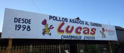 Lucas Charbroiled Chicken Puerto Penasco Mexico