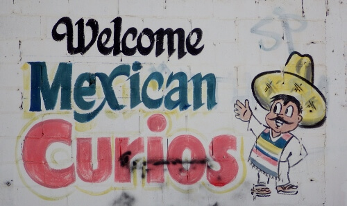 Welcome Mexican Curios Shops