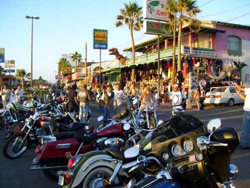 Rocky Point Mexico Motorcycle Rally