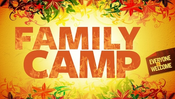 Family Camping Banner