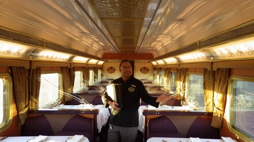 The Ghan Luxury Train in Australia Reviewed