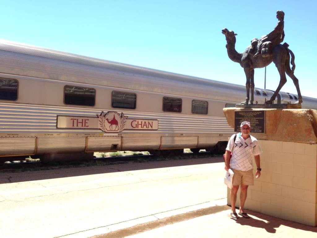 The Ghan Luxury Train