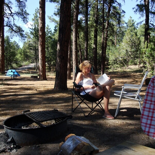 Wilderness Family Camping