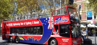 hop on hop off bus sydney australia