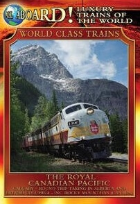 Royal Canadian Pacific Train Poster