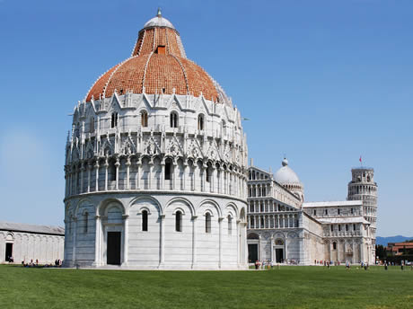 The Pisa Baptistery of St. John