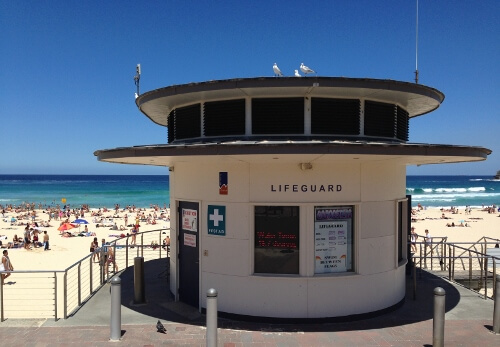Bondi Beach Lifeguard Station