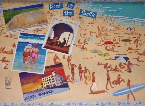 Bondi Beach Wall Mural