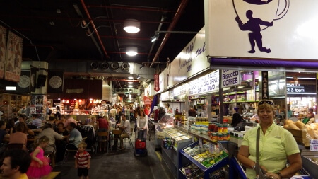 Adelaide Central Market Shops