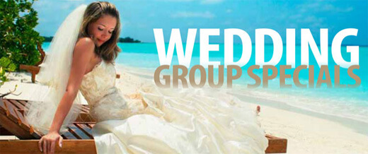 wedding group holiday specials