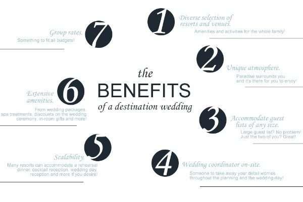 Destination Wedding Benefits