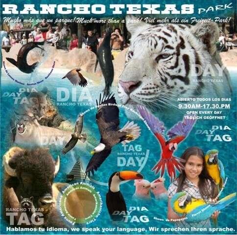Rancho Texas Advertising Poster
