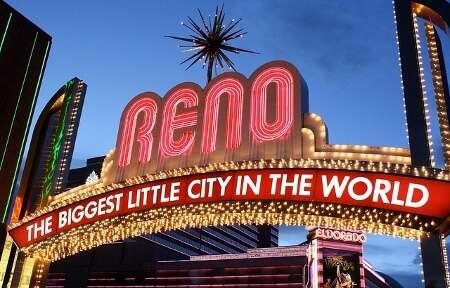 Reno Nevada Gateway Sign