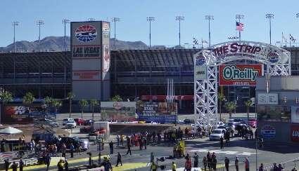 NHRA Racing Las Vegas Motor Speedway Style