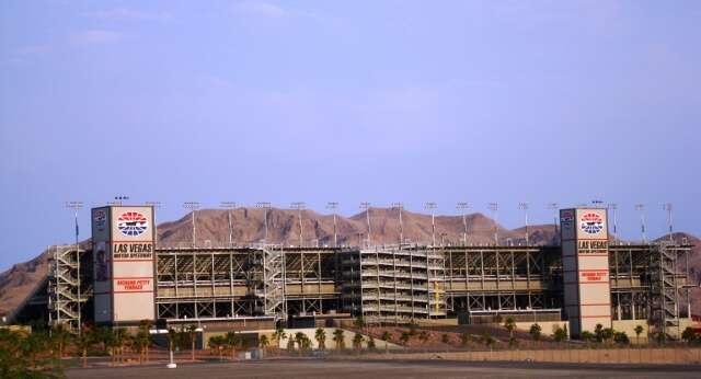 Las Vegas Motor Speedway Grandstands