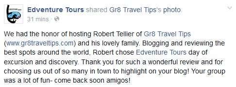 Edventure Tours Review