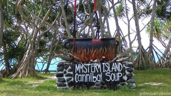 Mystery Island Cannibal Soup Pot