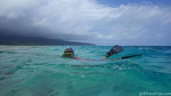 Snorkeling Mystery Island