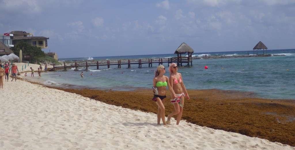 Beach Walking in Mexico