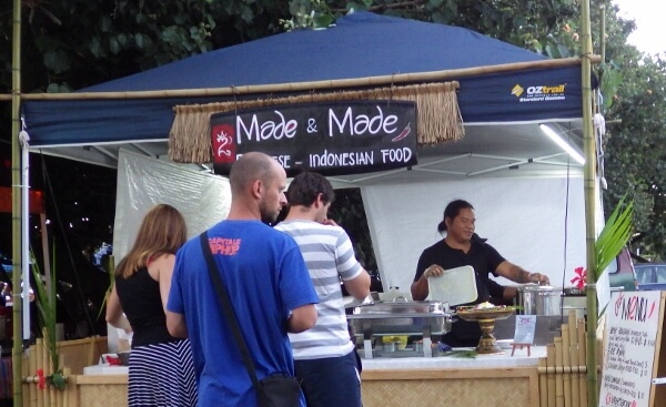 Byron Bay Market Food Vendor