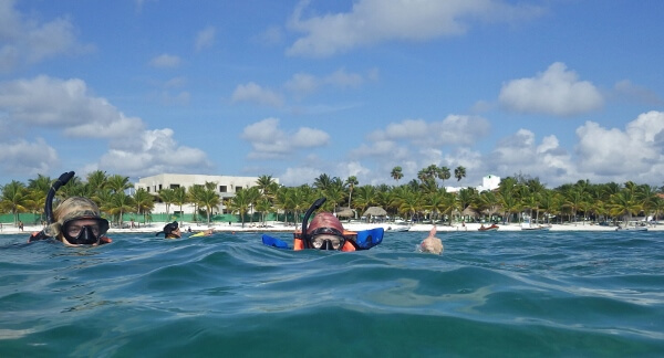 Snorkeling in Mexico