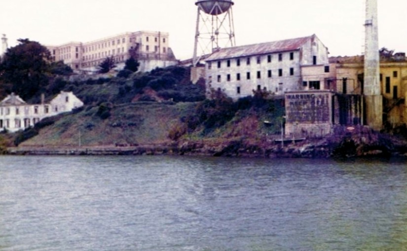 An Old Alcatraz Picture Taken in the 1970's