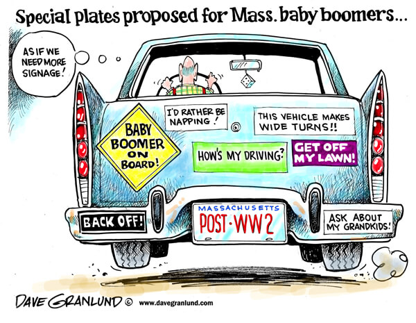 Baby Boomer Cartoon