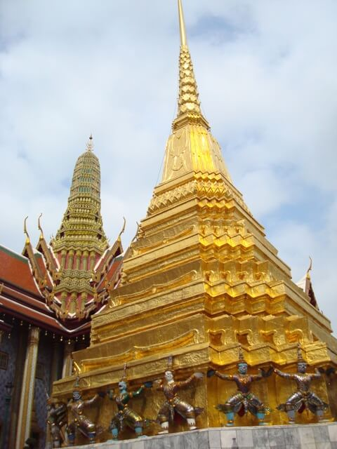 Bangkok Grand Palace Gold Temple