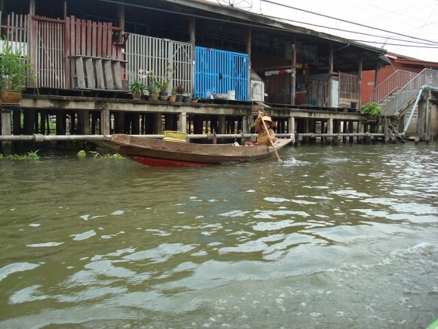 Thailand River Home Boat