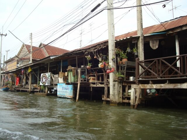 Bangkok Thailand River Homes