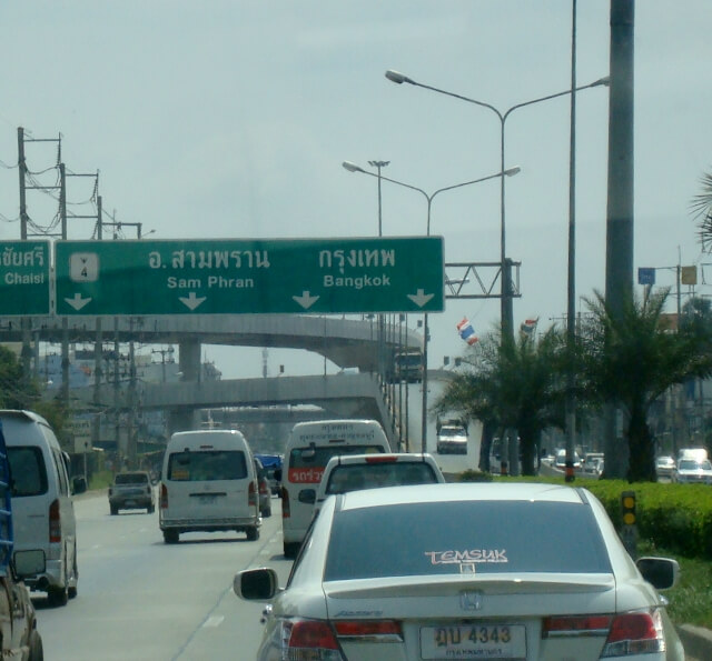Bangkok Thailand Highways