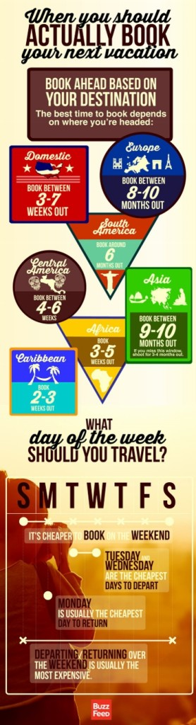 Vacation Infographic Chart
