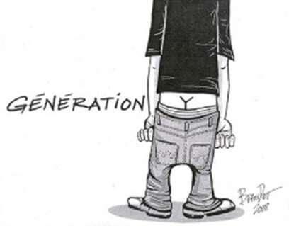 Y Generation Cartoon
