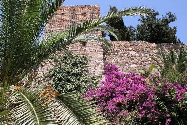 Alcazaba Fortress Malaga Spain