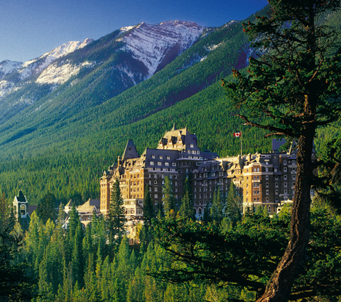 Banff Springs Hotel Alberta