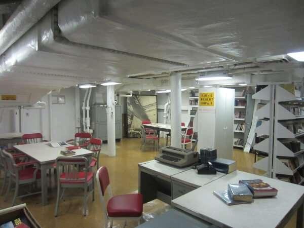 Battleship Missouri Library
