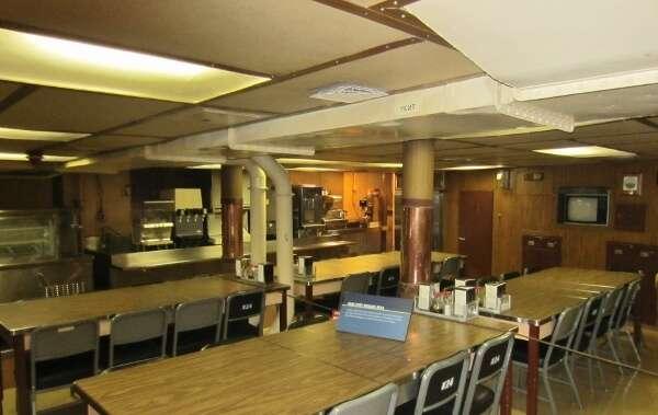 Battleship Missouri Mess Hall