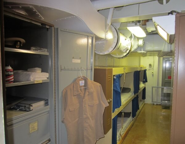 Battleship Missouri Officers Quarters