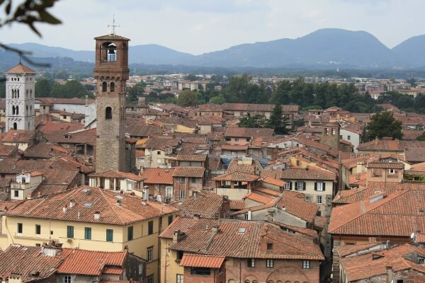 City of Lucca Italy