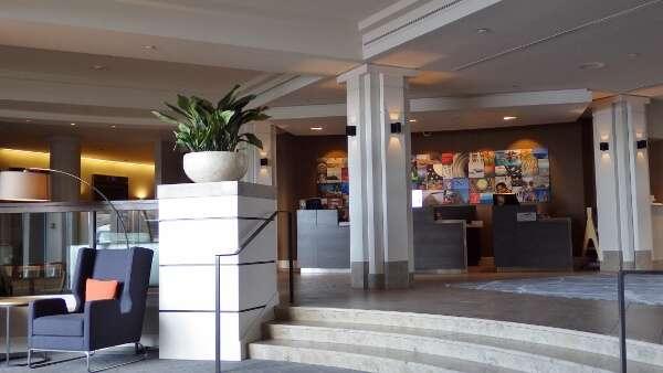 Delta Ocean Pointe Hotel Lobby