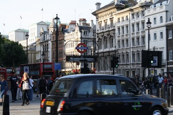 Downtown London England