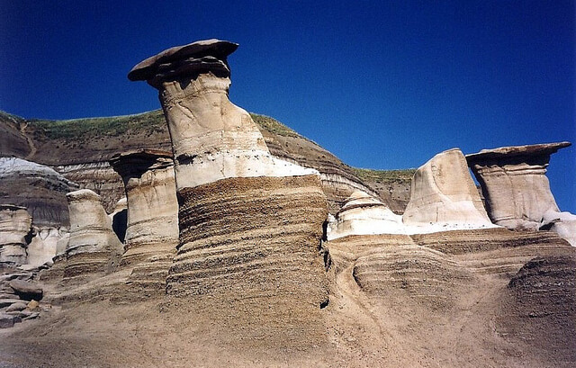 Canadian Badlands Hoodoos Alberta