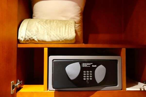 Hotel Room Safe