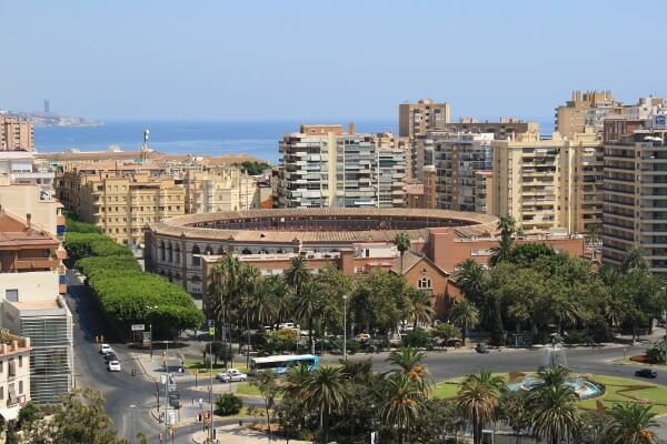 Malaga Spain City View